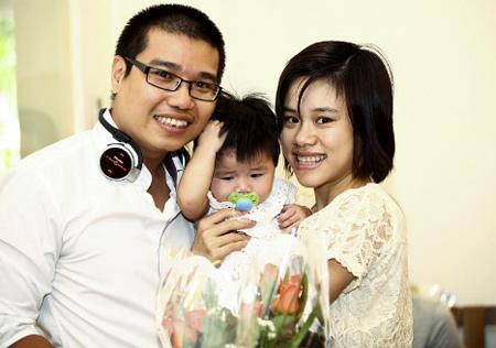 Tác giả Lê Phú Tuấn: Tôi dẫn theo vợ và con nhỏ đến buổi trao giải để cả nhà cùng chia sẻ niềm vui.