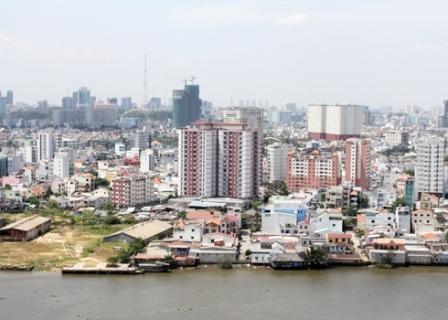 Thị trường TP HCM đang ế hơn 28.000 căn hộ. Ảnh: Vũ Lê