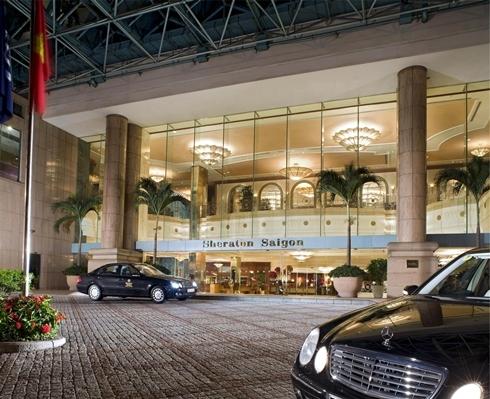 Khách sạn Sheraton Sài Gòn. Ảnh: Starwood Hotels