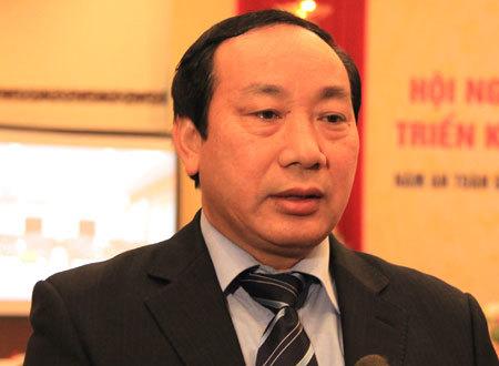 Thứ trưởng Nguyễn Hồng Trường. Ảnh: ĐL