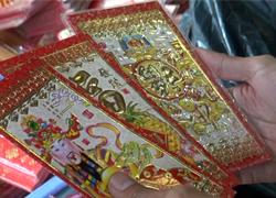 Bao lì xì Việt lép vế hàng Trung Quốc