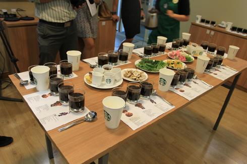 Trong những ngày trước khai trương, Starbucks đã giới thiệu những thức uống chính của mình. Hãng cho rằng, quy trình nghiêm ngặt làm cafe bên cạnh nghiên cứu thói quen của người Việt khiến họ tin, Starbucks sẽ được yêu thích.