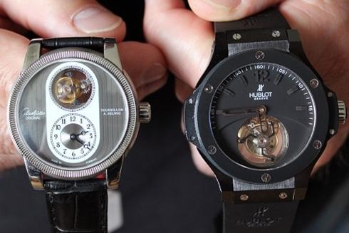 Đồng hồ Thụy Sĩ bị làm nhái ngày càng tinh vi. Ảnh: Swiss Info
