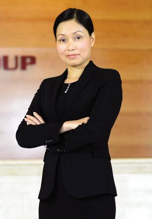 Bà Lê Thị Thu Thủy - một trong 2 doanh nhân Việt nhận giải.
