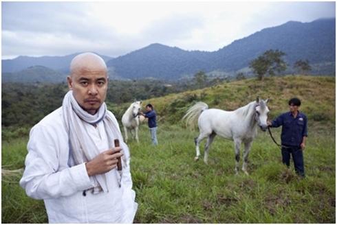 Đặng Lê Nguyên Vũ là ông vua của ngành cafe Việt Nam. Ảnh: Trung Nguyên