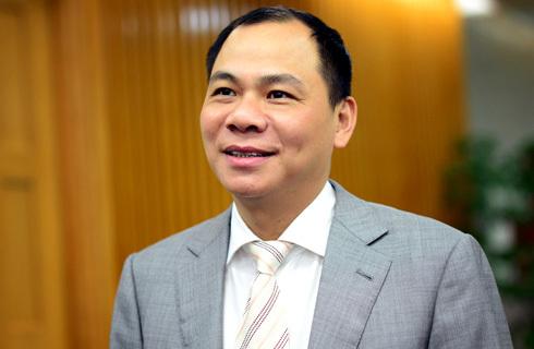 Phạm Nhật Vượng trở thành tỷ phú USD đầu tiên của Việt Nam. Ảnh: Anh Tuấn