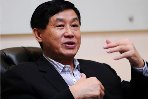 Ông Johnathan Hạnh Nguyễn tiết lộ cải tạo Tràng Tiền là giấc mơ ông đã ấp ủ gần 30 năm nay mới thành hiện thực. Ảnh: Nhật Anh