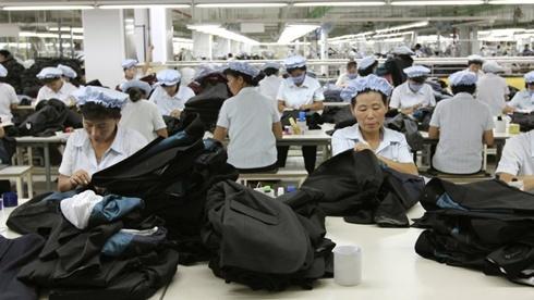 Khu công nghiệp Kaesong - nguồn thu ngoại tệ chính của Triều Tiên. Ảnh: AP