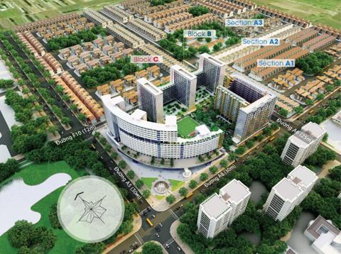 Khu đô thị mới Tây Sài Gòn.