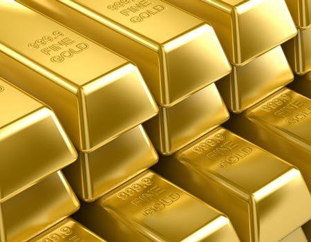 Mỗi ounce vàng giao ngay tăng 20 USD khi chốt phiên Mỹ. Ảnh: Kitco