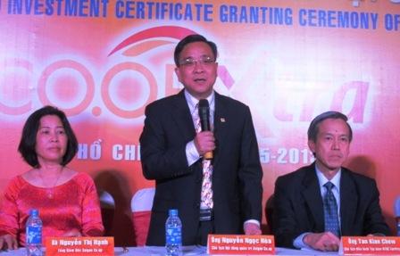 Saigon Co.op bắt tay với FairPrice mở đại siêu thị. Ảnh: Thi Hà