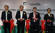 Manulife Việt Nam khai trương văn phòng đại diện mới