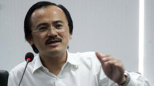 Bầu Thắng khẳng định KienLong Bank không góp vốn tại CLB Kienlongbank Kiên Giang. Ảnh: ĐH.