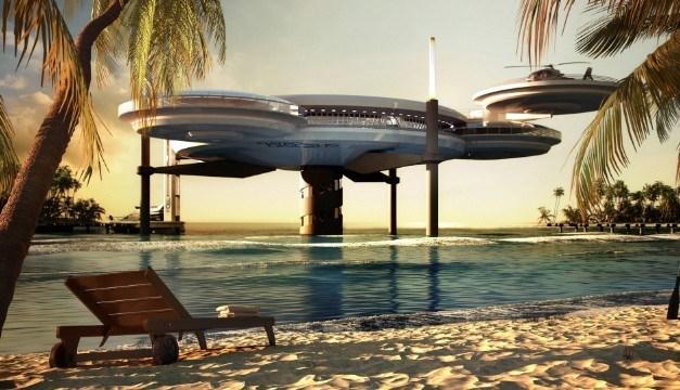 Maldives xây khách sạn dưới nước đầu tiên