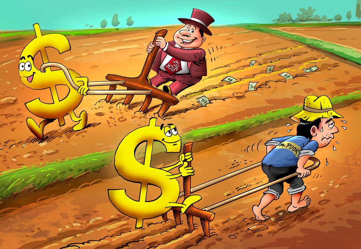 Kết quả hình ảnh cho tư duy cartoon người nghèo