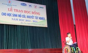 Ngân hàng Nam Á trao học bổng tại Bến Tre