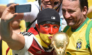 Thắng độ gấp 250 lần nhờ đoán Brazil thua Đức 1-7