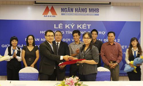 Đây là một trong nhiều dự án lớn nằm trong chiến lược phát triển ngành công nghiệp Dệt may và các ngành phụ trợ của Chính phủ, được ngân hàng MHB tài trợ với tổng mức đầu tư 100 tỷ đồng.