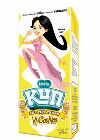Sữa KunCookies thật ngon, giúp con thêm mê sữa