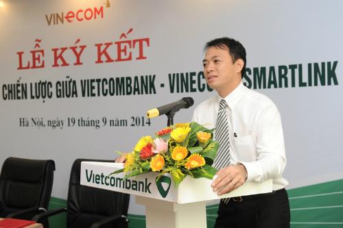 Vietcombank sẽ phối hợp với Smartlink cung cấp toàn diện các dịch vụ ngân hàng cho Vinecom nhằm đem đến cho người tiêu dùng những sản phẩm, dịch vụ có chất lượng tốt