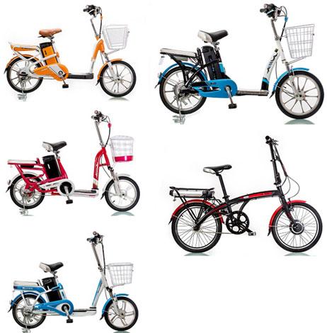 Các sản phẩm xe đạp điện AIMA được phân phối tại Việt Nam
