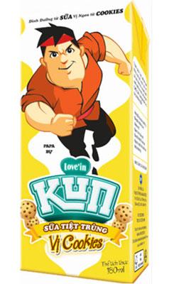 Với thành phần 100 % sữa tiệt trùng, Kun Cookies bổ sung dưỡng chất thiết yếu và cung cấp năng cho các hoạt động thể lực lẫn trí tuệ mỗi ngày