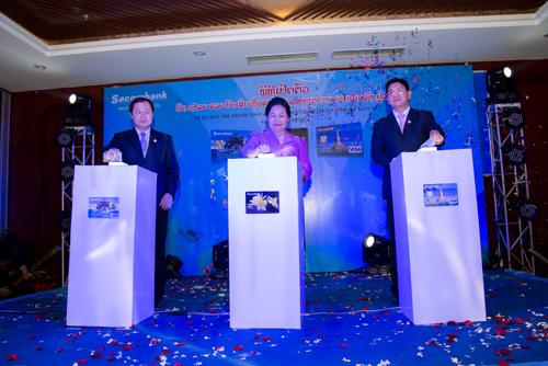 Sacombank ra mắt thẻ thanh toán, thẻ tín dụng quốc tế tại Lào