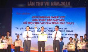Festival 'Sáng tạo trẻ' tuyên dương Vietcombank Smart OTP