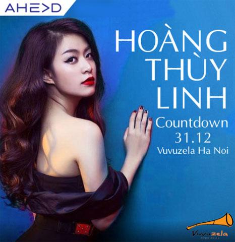 Bạn sẽ được thưởng thức những màn trình diễn nóng bỏng của Hoàng Thùy Linh tại sân khấu Vuvuzela cùng nhiều ngôi sao khác.
