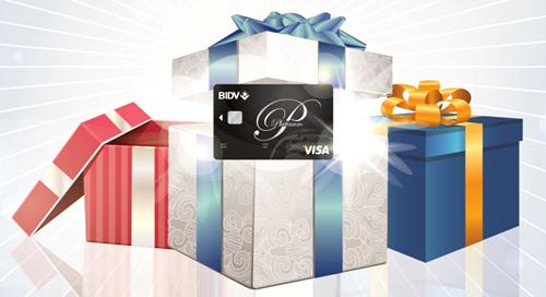 Thông tin chi tiết xin liên hệ các Chi nhánh/Phòng giao dịch của BIDV trên toàn quốc hoặc tổng đài Chăm sóc khách hàng 24/7 theo số điện thoại 19009247 hoặc truy cập website card.bidv.com.vn.