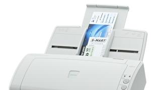 Fujitsu ScanPartner SP25 - lặng lẽ và bền bỉ