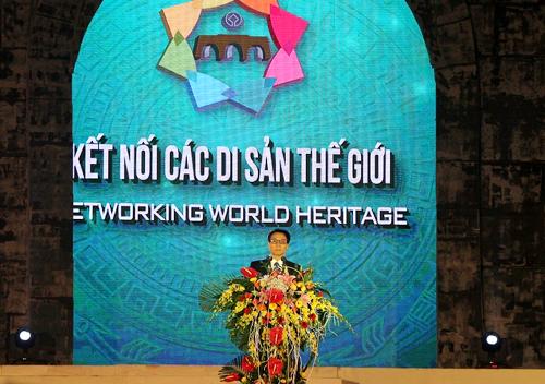 Phó Thủ tướng Vũ Đức Đam phát biểu tại Lễ khai mạc Năm du lịch Quốc gia 2015  Thanh Hóa