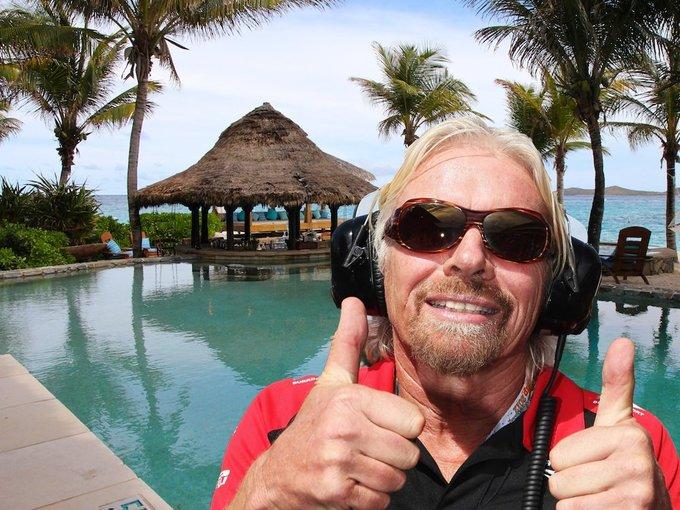 Cuộc sống đầy màu sắc của Richard Branson