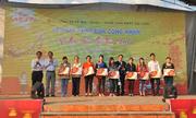 Bia Sài Gòn tiễn 10.000 công nhân về quê ăn Tết