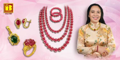 Bảo Tín Minh Châu giới thiệu nhiều thiết kế trang sức làm quà tặng cho bà và mẹ.