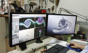 Công nghệ in 3D hỗ trợ bán trang sức trực tuyến