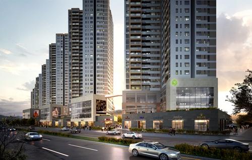 Khi mua căn hộ ba phòng ngủ của The Sun Avenue, quận 2, khách hàng sẽ được tặng chỗ đậu ôtô.