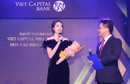 Hoa Hậu Việt Nam 2012 Đặng Thu Thảo, Đại sứ thương hiệu của dòng thẻ Viet Capital Visa Platinum