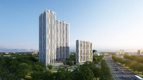 Dự án căn hộ cao cấp Centana Thủ Thiêm, quận 2, TP HCM.