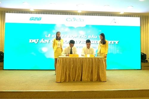 Phú Gia Thịnh ký kết đầu tư dự án Coco Riverside City  cùng cty CP Giao thông Vận tải Quảng Nam