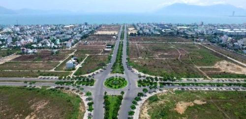 Hình ảnh thực tế dự án nhìn từ trục Nguyễn Sinh Sắc ra biển Nguyễn Tất Thành. Hotline:0905.42.5555  www.phugiathinh.vn
