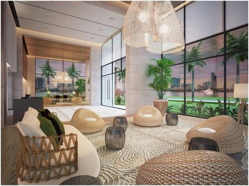 Căn hộ Hawaii được thiết kế theo phong cách resort. Hotline: 090 999 5665. Website: www.diamondisland.com.vn