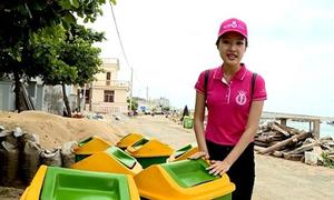 An Trĩ Vương cùng Hoa hậu Việt Nam giữ sạch môi trường biển