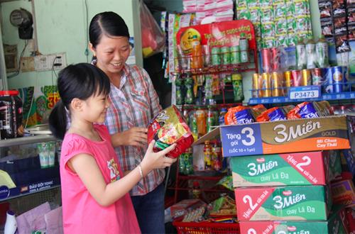 Lần đầu tiên thương hiệu mì gói được chọn mua nhiều nhất ở khu vực nông thôn là một thương hiệu Việt Nam.