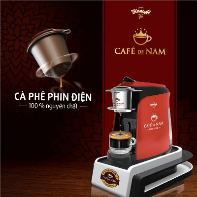Cà phê Phin Điện Café de Nam là công nghệ đột phá thăng hoa bản sắc cà phê phin truyền thống.