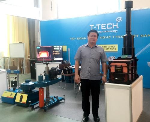 Tiến sĩ Nguyễn Đình Trọng - tác giả của Lò đốt rác T-TECH, Chủ tịch T-TECH Việt Nam.