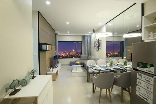 Thiết kế căn hộ hiện đại, sang trọng.