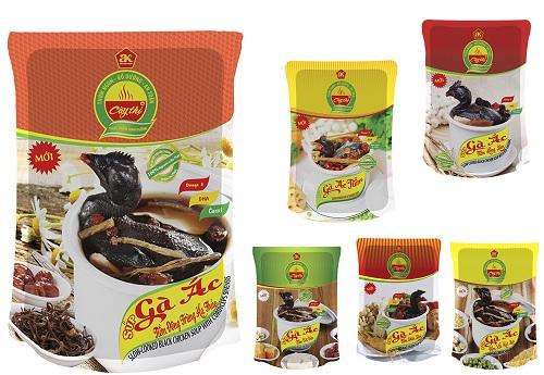 6 hương vị Gà Ác Tiềm thương hiệu Cây Thị dễ dàng lựa chọn