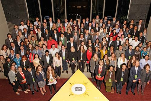Các nhà lãnh đạo trẻ tham gia Hội nghị Thanh Niên về Nông nghiệp toàn cầu được tổ chức tại Úc năm 2015.