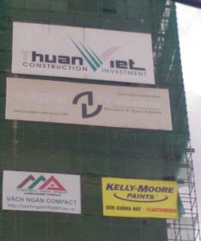 Công ty được các nhà thầu uy tín lựa chọn công vách ngăn vệ sinh Compact cho công trình của mình.
